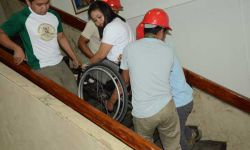 PWD EMPLOYEE 'RESCUED'