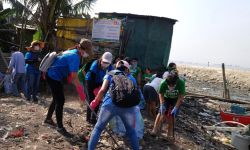 CLEANUP IN BRGY. TANGOS SOUTH, NAVOTAS
