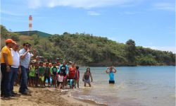 CIMATU DECLARES AGUAWAN BEACH AS SWIMMABLE