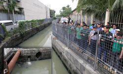 CIMATU INSPECTS ESTERO FOR MANILA BAY REHAB