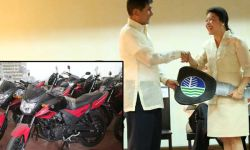 NEW VEHICLES FOR DENR FIELD OFFICES