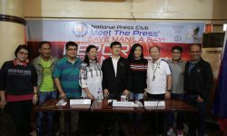 DENR GETS SUPPORT OF NATIONAL PRESS CLUB FOR MANILA BAY REHAB