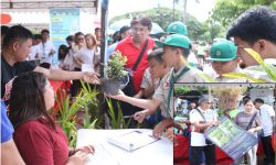 DENR SHARES PLANTS, EDUCATIONAL MATERIALS ON INDEPENDENCE DAY